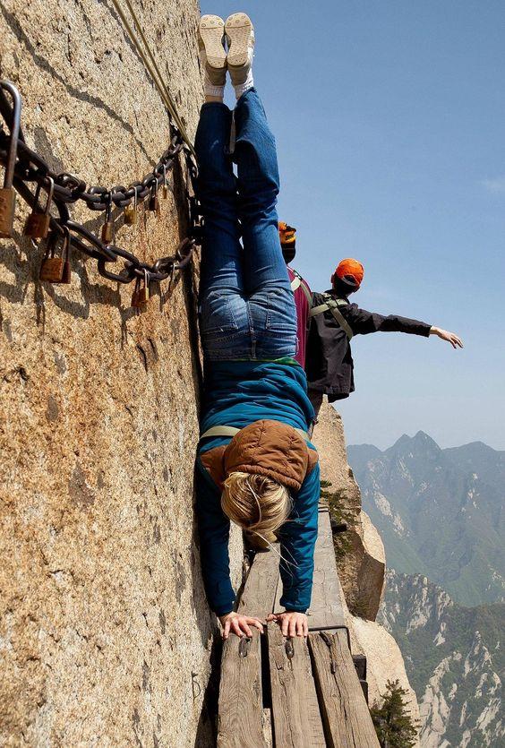 Гора Хуашань в Сиане