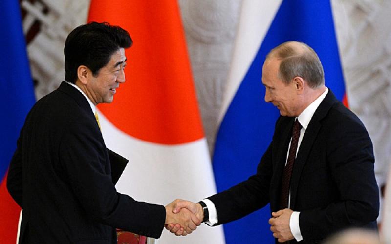 Путин в Японии 2016